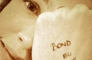Luana Piovani manda recado aos fãs do Twitter pela conta do marido
