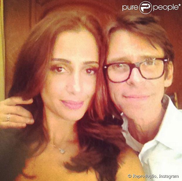 Camila Pitanga muda visual e adere ao ruivo acobreado, cor já adotada por outras famosas
