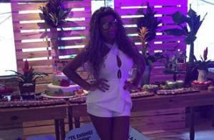 Ludmilla comemora aniversário de 20 anos em festa com pagode no Rio