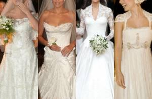 Mês das noivas! Relembre vestidos que as famosas usaram em seus casamentos