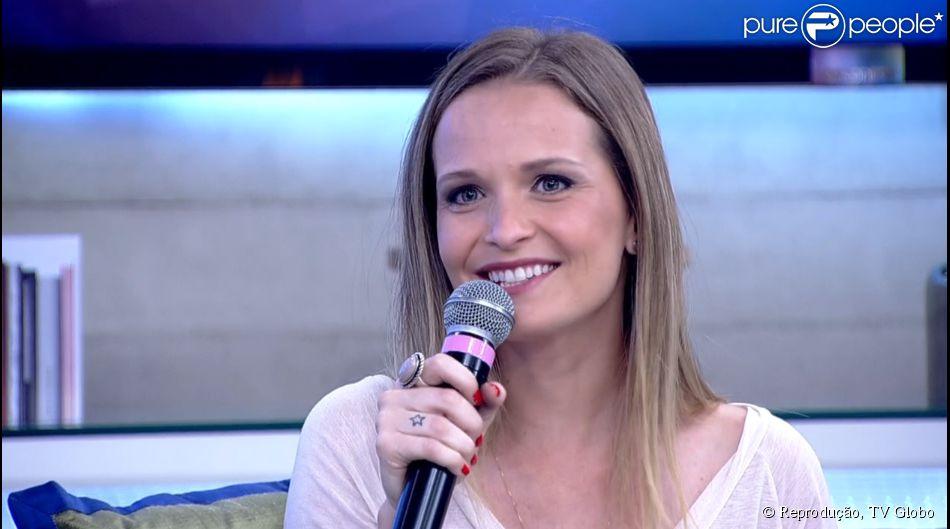 e2d86195ef322 Fernanda Rodrigues revê cenas de trabalho na Globo há 20 anos e se compara  com a