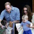 Kate Middleton e William são pais George, de quase dois anos, e de Charlotte, ainda recém-nascida