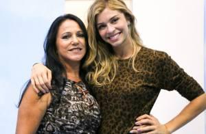 Mãe de Grazi Massafera elogia a filha e conta que a neta já brinca de ser atriz