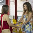 Paula Fernandes fez uma participação na atual temporada ao lado da atriz Maria Luísa Campos, intérprete da Mari