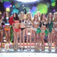 As ' Angels' reunidas no final do Victoria's Secret Fashion Show