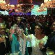 Preta revelou no palco que gastou mais de R$ 1 milhão na festa. No total, o casamento custou R$ 2 milhões