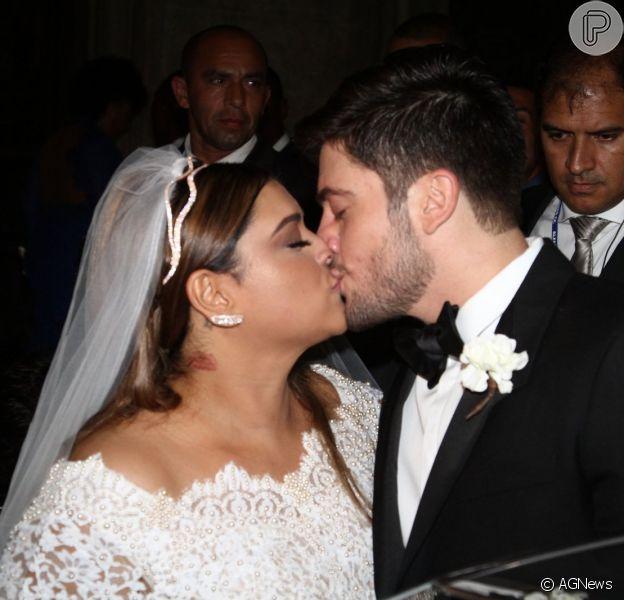 Rodrigo Godoy posta vídeo no Instagram relembrando casamento com Preta Gil: 'Resumo da igreja', legendou ele nesta quinta-feira, 14 de maio de 2015