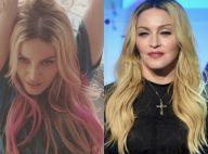 Madonna muda o visual e faz mechas cor-de-rosa para gravação de clipe nos EUA