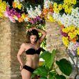 'Essa é a primeira vez que estrelo uma campanha de lingerie e estou adorando', declarou Priscila Fantin