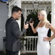 Juliano Cazarré e a mulher, Letícia Bastos, foram para Las Vegas a convite de um patrocinador do Rock in Rio