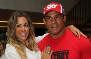 Joana Prado revela que não fala com Vitor Belfort antes de luta: 'Insuportável'