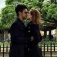 Sophia Abrahão conheceu Sergio Malheiros nos bastidores da novela 'Alto Astral' e, em março deste ano, depois de ser vista frequentemente na companhia do ator, acabou assumindo o relacionamento