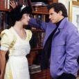 Claudia Raia e Edson Celulari se apaixonaram quando formaram par romântico em 'Deus nos Acuda'