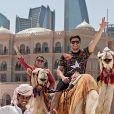 Preta Gil e Rodrigo Godoy também fizeram passeio de camelo