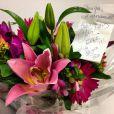Ticiane Pinheiro recebe flores de Celso Zucatelli e Chris Flores com mensagem desejando força