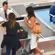 Bruna Marquezine foi tietada pelo funcionário da companhia aérea no balcão