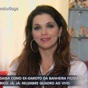 Luiza Ambiel, musa da 'Banheira do Gugu', relembra quando quase afogou Jô Soares