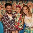 Fernanda Rodrigues e Raoni Carneiro namoraram, foram morar juntos e tiveram Luisa, filha única do casal que nem pensa oficializar a união