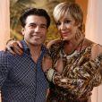 Claudia Raia e Jarbas Homem de Melo começaram a namorar no início de 2013 e não só vivem juntos, como muitas vezes trabalham juntos