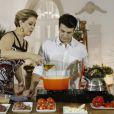Claudia Raia e Jarbas Homem de Melo levam uma vida de casados
