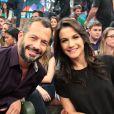 Malvino Salvador e Kyra Gracie começaram a namorar e ela logo engravidou