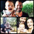 Malvino Salvador e Kyra Gracie hoje vivem juntos e criam a pequena Ayra, filha única do casal que não trocou alianças