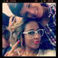 Rafaella namora há cerca de três anos o jogador das categorias de base do Santos Lucas Crispim