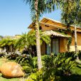 Luan Santana ficou hospedado na Suíte Pousada, uma casa independente dentro do próprio hotel