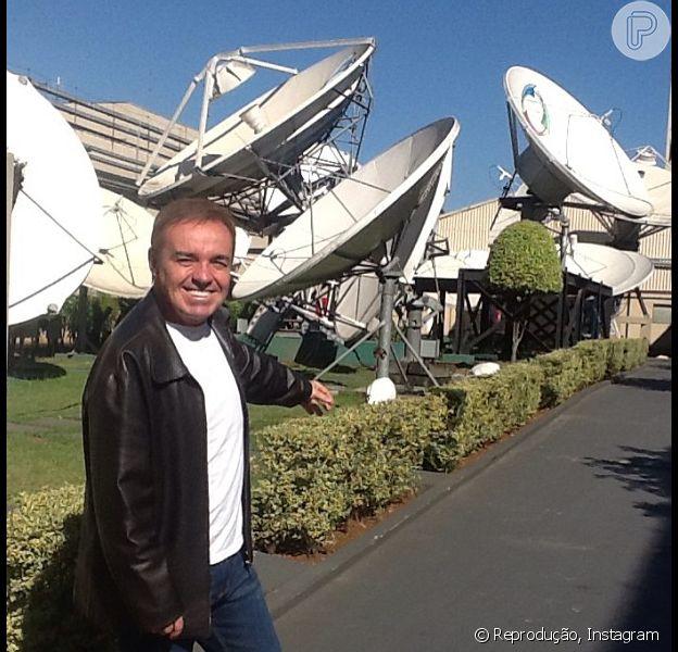 Gugu Liberato está fora do quadro de funcionários da TV Record segundo informações do colunista Ricardo Feltrin, em 6 de junho de 2013