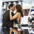 Alex (Rodrigo Lombardi) e Samia ( Alessandra Ambrosio) estão juntos há um ano, mas o empresário não se envolve no relacionamento