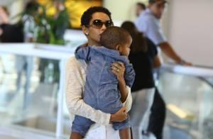 Taís Araújo e Lázaro Ramos vão passar dois meses em Nova York com o filho, João