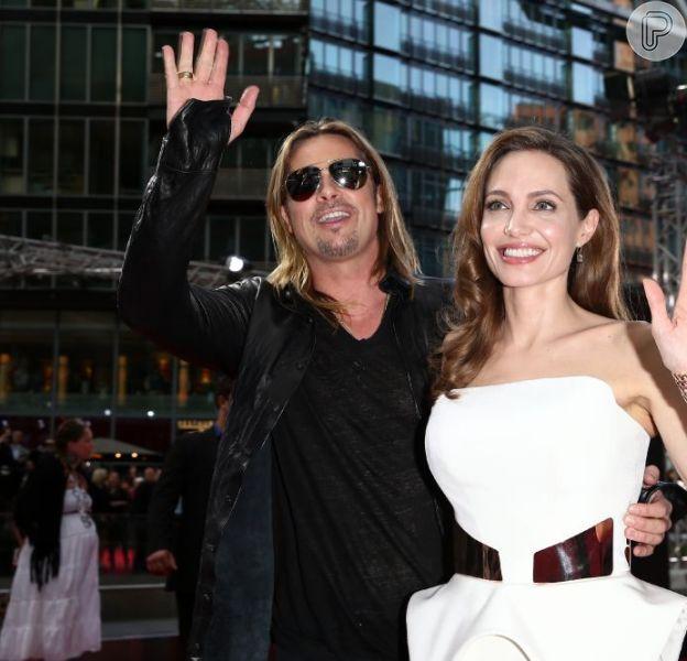Brad Pitt afirmou, nesta segunda-feira, 17 de junho de 2013, no programa 'Good Morning America', que Angelina se recuperou bem da mastectomia