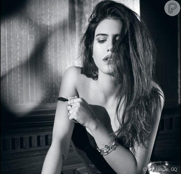 Antonia Morais estrela ensaio sensual para a revista 'GQ'