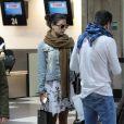 Isis Valverde embarcou no aeroporto de Congonhas, em São Paulo