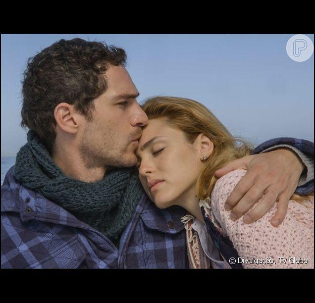 Júlia (Isabelle Drummond) e Felipe (Michel Noher) não ficam juntos no final da novela 'Sete Vidas', em 10 de julho de 2013, mas o casal têm grande torcida do público