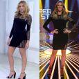 Monica Iozzi apresentou o 'Vídeo Show' desta quarta-feira, dia 8 de julho de 2015, usando o vestido Versace de Fernanda Lima