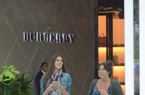 Camila Queiroz passeia em shopping com bolsa da grife Michael Kors de R$ 2 mil