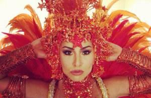 Sabrina Sato grava vinheta de Carnaval da Globo e ganha elogios pelo corpão