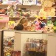 Angélica e Eva entram em loja de brinquedos