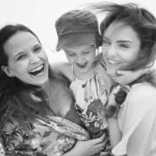 Fernanda Rodrigues curte férias em Portugal com Isabelle Drummond