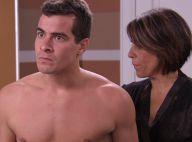 'Babilônia':Diogo tem ataque de ciúmes de Gabi e Beatriz o beija na frente da ex