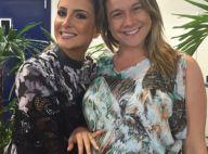 Claudia Leitte conversa com Fernanda Gentil sobre filhos: 'Sou uma mãe presente'