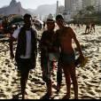 Helô Pinheiro conquistou elogios de vários seguidores em sua postagem na praia de Ipanema. 'Linda', 'Maravilhosa' e 'Inspiração' foram alguns deles