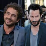 Felipe Andreoli relembra entrevista com Keanu Reeves e brinca: 'Me deu mole'