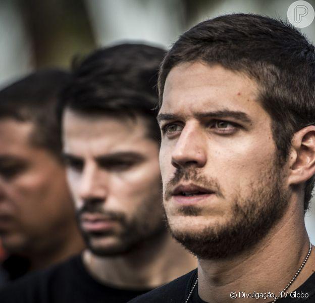 Marco Pigossi aparece com visual novo nas primeiras cenas de Dante, seu personagem na novela 'A Regra do Jogo', a próxima trama das nove da Globo, que tem estreia prevista para agosto de 2015