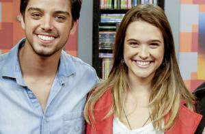 Juliana Paiva sobre romance com Rodrigo Simas: 'Não falo que não vai acontecer'