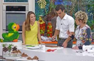 Paolla Oliveira elogia Joaquim Lopes e fala sobre filhos: 'Na hora certa'