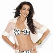 Tania Khalill exibe corpão em revista, graças a exercícios e 'um tempo para si'