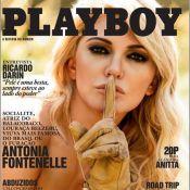 'Playboy' divulga segunda capa da revista com ensaio nu de Antonia Fontenelle