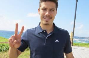 Hernanes, jogador da Seleção Brasileira, curte férias em Noronha com a família